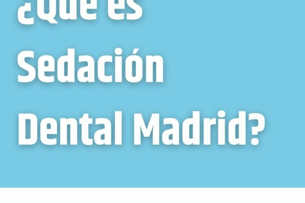 ¿Qué es Sedación Dental Madrid?  𝐒𝐄𝐃𝐀𝐂𝐈Ó𝐍 𝐃𝐄𝐍𝐓𝐀𝐋 𝐌𝐀𝐃𝐑𝐈𝐃 es una clínica dental do...