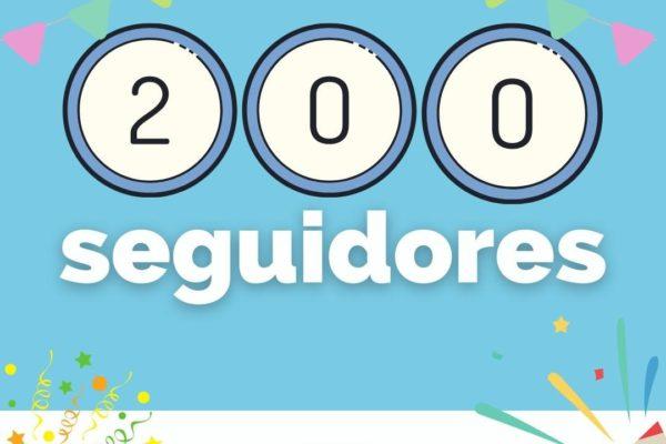 ¡Hemos alcanzado los 200 seguidores!   Poco a poco hemos ido creciendo y amplian...